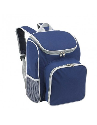 Picknickmand backpack blauw
